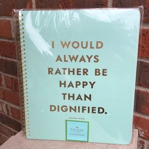 Kate Spade Be Happy Notebook